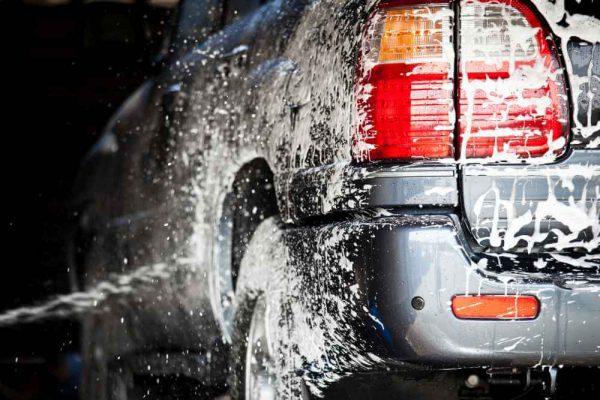 ręczne mycie auta